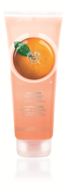 The Body Shop Satsuma Body Sorbet