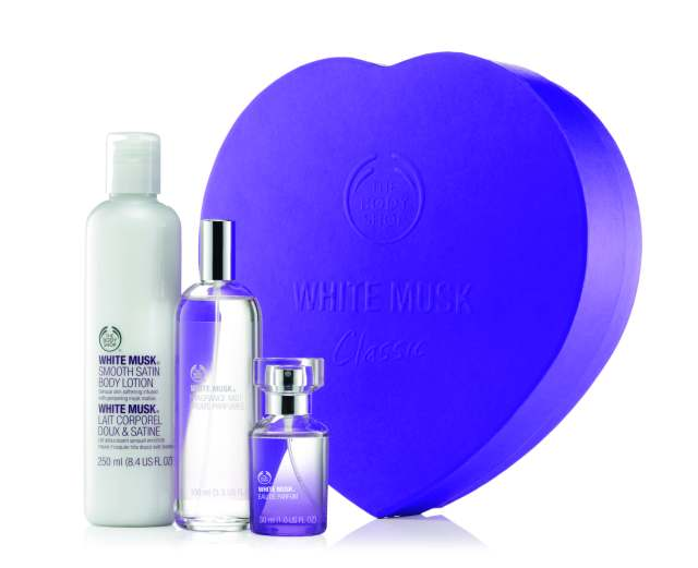GIFT DELUXE WHITE MUSK, Rs 3295