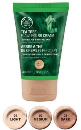Tea Tree BB Cream Shades