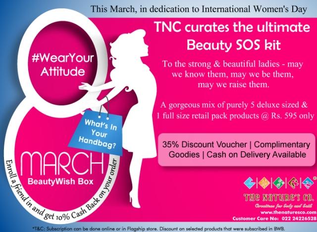 TNC March BeautyWish Box