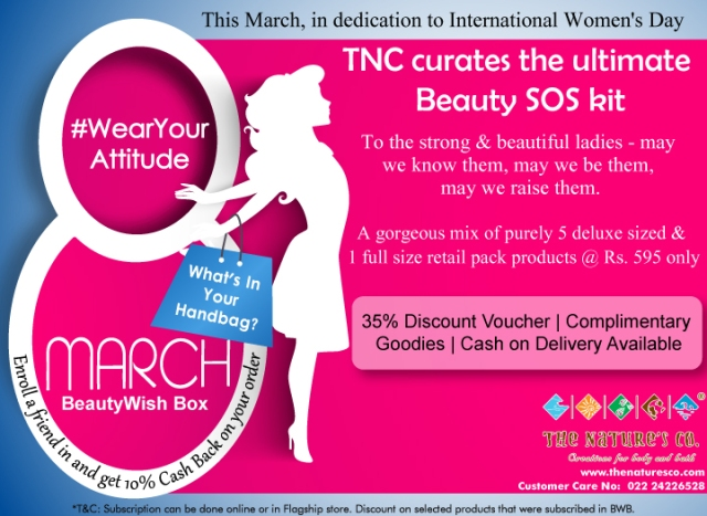 TNC March BeautyWish Box