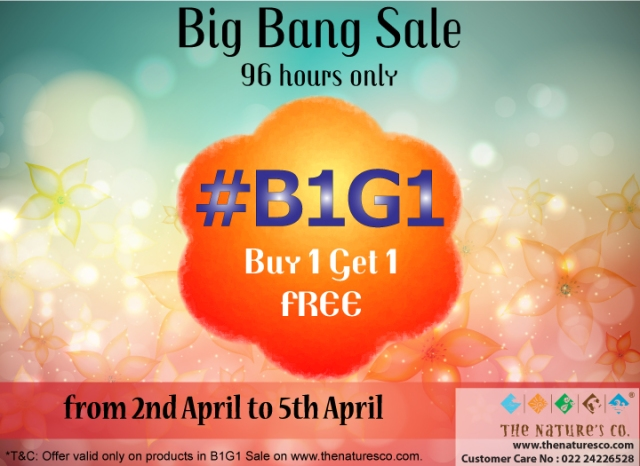 1. B1G1 Sale