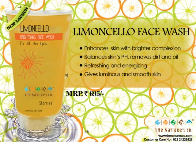 5. Limoncello Brightening Facewash