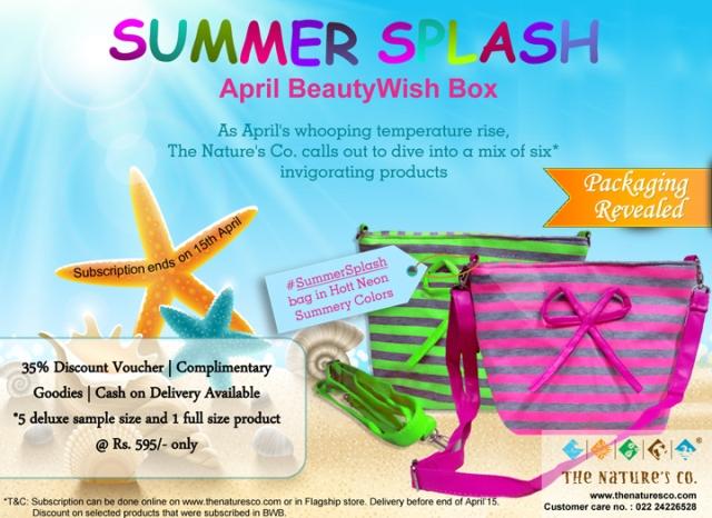 6. SummerSplash BeautyWish Box