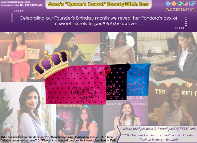 June BeautyWish Box