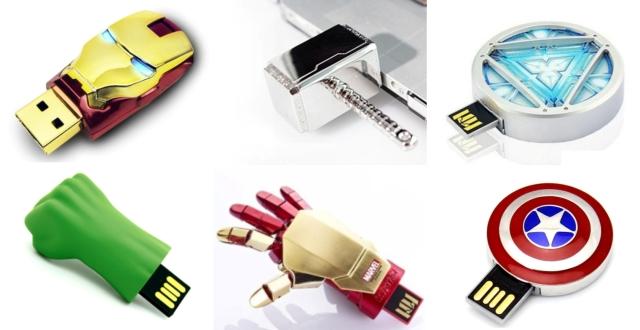 Marvel's superhero USB's.Rs 549-949