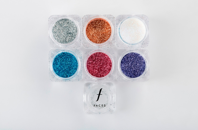 FACES Stackables- glitter