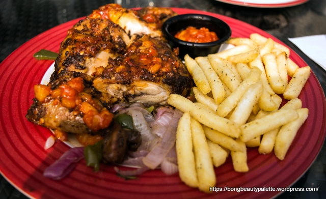 Half Roasted Cayenne Pepper Chicken at TGIF Pune