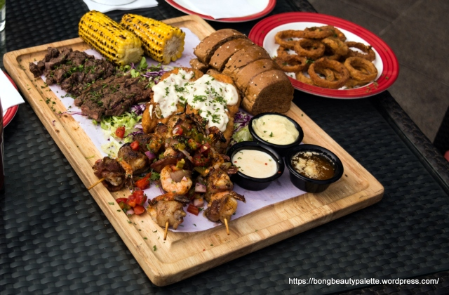 Presenting: The Texas Platter at TGIF Pune