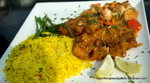 Almond Crusted Fish and Jalapeno Shrimps at TGIF Pune