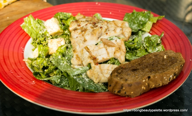 Chicken Caesar Salad at TGIF Pune
