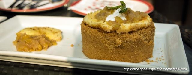 Pineapple Rum Cheesecake at TGIF Pune