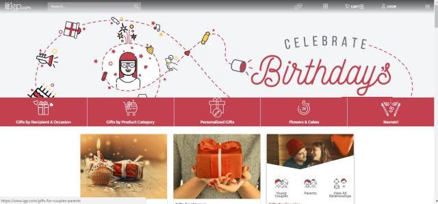 Homepage of IGP.com